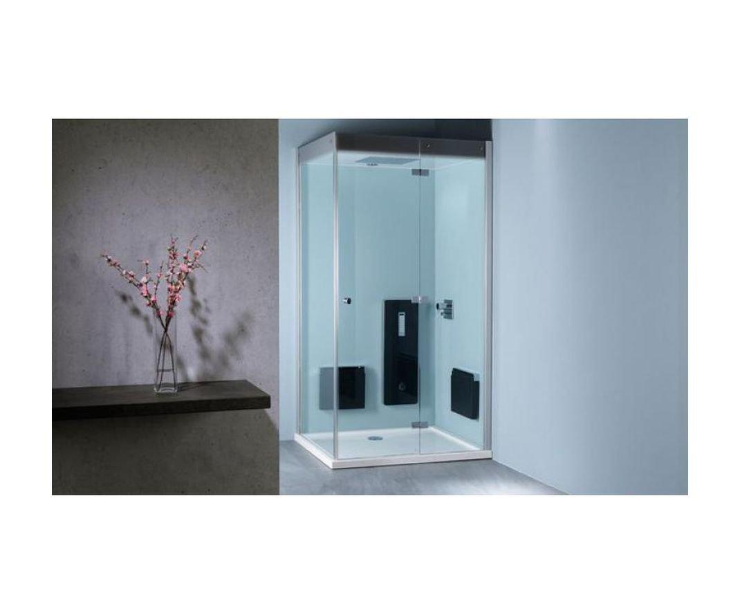 Repabad Atlanta de vapor panel de vapor para baño de vapor de la ducha - Colour negro: Amazon.es: Bricolaje y herramientas