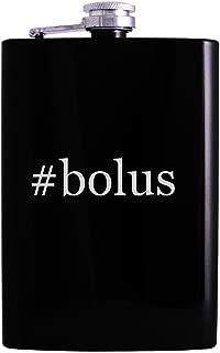 #bolus - 8oz Hashtag Hip Alcohol Drinking Flask, Black