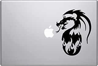 Dragon Reborn - Tribal Decal Vinyl Removable Decorative Sticker for Car, Laptop, Bike, Helmet, Small Appliances, Music Instruments, Motorcycle, Suitcase