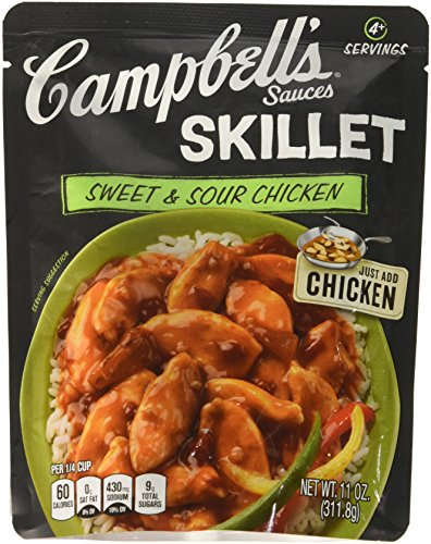 Campbell's Skillet Sauces, Sweet & Sour Chicken, 11 oz