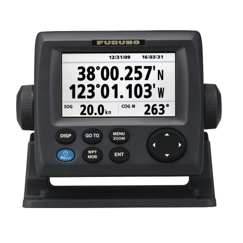 Furuno GP33 GPS Receiver with 4.3' Color LCD, Includes Antenna