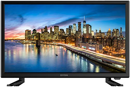DYON Live 22 Pro 54,6 cm (22 Zoll) Fernseher (Full-HD, Triple Tuner (DVB-C/-S2/-T2), Hotelmodus, PC-Monitor-Anschluss)