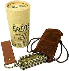 Cryptex USBフラッシュドライブ コードでデータを守る 日本語説明書付き 64GB USB3.0