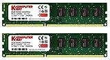 Komputerbay 16GB (2x 8GB) DDR3 PC3-12800 1600MHz DIMM 240-Pin RAM Desktop Speicher 11-11-11-28 XMP...