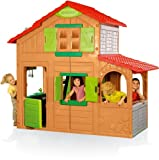 smoby duplex spielhaus 2 etagen farmfreunde. Black Bedroom Furniture Sets. Home Design Ideas