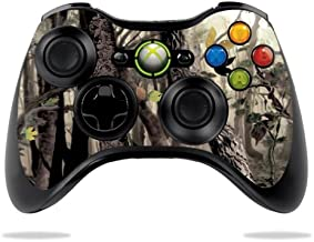 MightySkins Skin Compatible with Microsoft Xbox 360 Controller - Tree Camo | Protective, Durable, and Unique Vinyl Decal wrap Cover | Easy to Apply, Remove, and Change Styles | Made in The USA