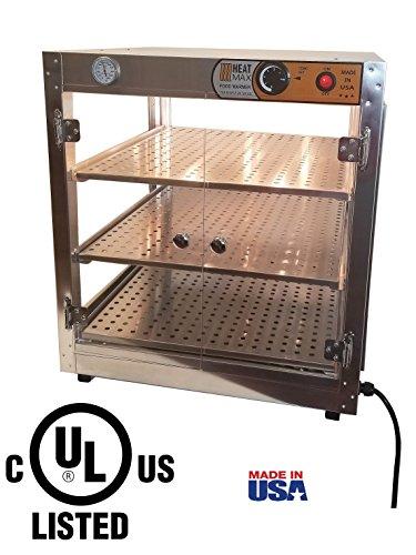 Top pretzel warmer display case for 2020