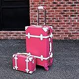 Mdsfe Maleta Snugcozy Princess Serie Travel Boardable Suitcase 20/22/24 Pulgadas tamaño Bolsos y Spinner para Equipaje...