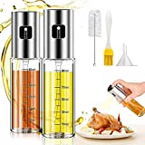 Oil Sprayer for Cooking, 2Pack Olive Oil...