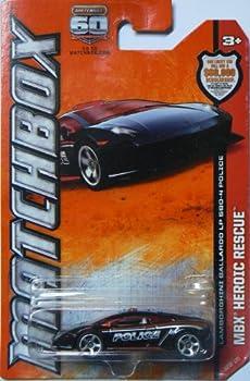 2013 Matchbox - MBX Heroic Rescue - Lamborghini Gallardo LP 560-4 Police
