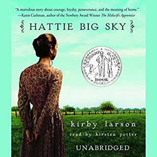 Hattie Big Sky audiobook cover art