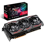 ASUS ROG Strix AMD Radeon RX 5700XT Overclocked 8G GDDR6 HDMI DisplayPort Gaming Graphics Card (ROG-STRIX-RX5700XT-O8G-GAMING)