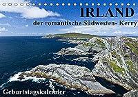 Irland - der romantische Suedwesten - Kerry (Tischkalender 2022 DIN A5 quer): Eine zwoelfmonatige Reise zu den schoensten Plaetzen in Irlands Suedwesten (Geburtstagskalender, 14 Seiten )