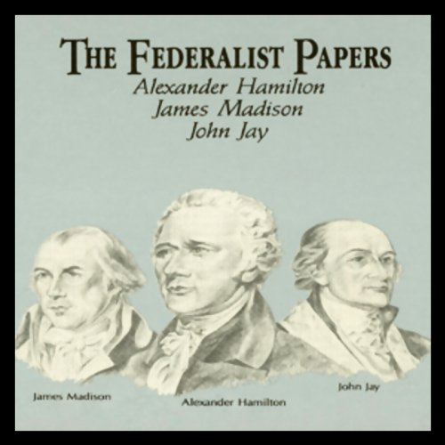 The Federalist Papers audiobook cover art