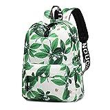Chinesischen Stil Blumendruck Schulrucksack für Mädchen Rucksack Reise Laptop Rucksack Schultasche B2
