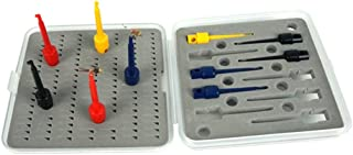 Riverruns Fly Hook Hackle Pliers, Flies Lures or Hooks Display, Hackle Wrapping with Special Designed Display Box Pack