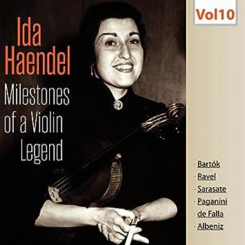 Milestones of a Violin Legend: Ida Haendel, Vol. 10 (Live)