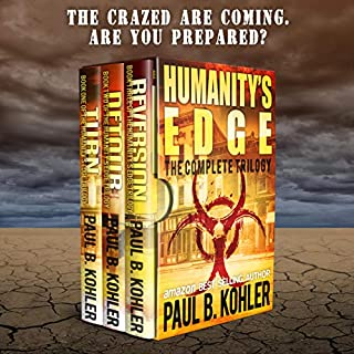 Humanity's Edge audiobook cover art