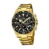 Jaguar Reloj para Hombre Cronógrafo Cuarzo Swiss Made Acero dorado J864/3