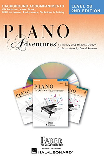Price comparison product image Piano Adventures - Level 2B Lessons Book CD