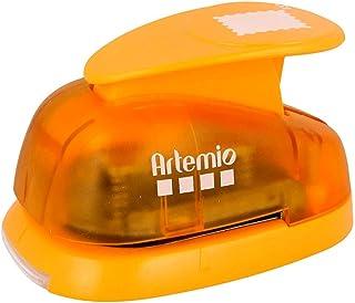 Artemio VIHCP914 Grande perforatrice à Levier 3,5 cm Timbre Poste, Plastique, Multicolore, 9,6 x 6,5 x 16 cm