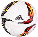 adidas DFL Bundesliga Match Officiel Ballon Homme, White/Solar Red/Black/Solar Orange/Solar Gold/Silver Métallique, Taille 5