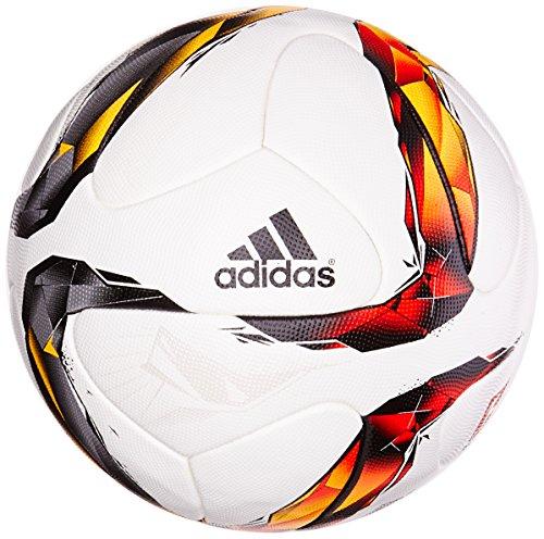 adidas Fußball Torfabrik Offizieller Spielball, White/Solar Red/Black/Solar Orange, 58 x 37 x 2 cm, 20 Liter