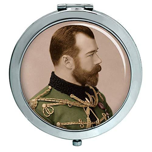Zar Nicholas II de Rusia Espejo Compacto