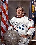 Apollo 16 Astronaut John Young Portrait 16x20 Silver Halide Photo Print