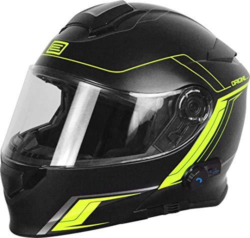 Origine Helmets 204271729100102, Delta Motion Matt – Casco para moto desmontable y con Bluetooth integrado, color lima, talla XS.