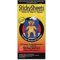 Sticky Sheets - Pet Hair Removal System - 6 Sheets
