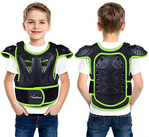 Seahouse Children Bicycle Motorcycle Armor Vest Back Protector Men s Armored Street Racing Jacket product image
