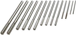 0.2530 0.2405 Shank Diameter 1-1//2 Cutting Length Straight Shank and Flute 6 Overall Length Titan TR94392 High Speed Steel Chucking Reamer