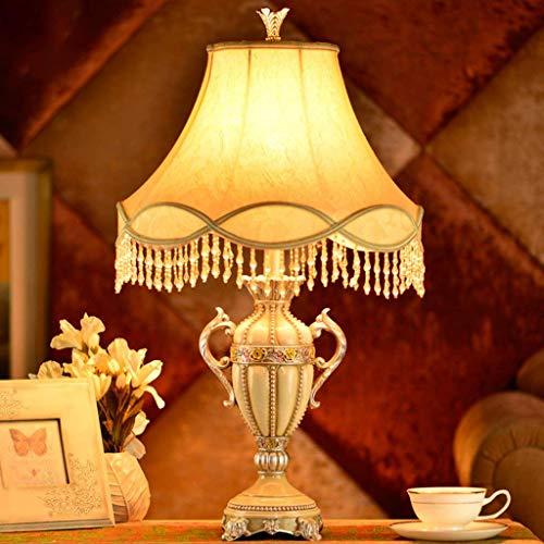Fotingstarcase Lámparas de Mesa, Personalidad Simple Decorativa Lámparas de Mesa, lámpara de cabecera del Dormitorio, de la Manera Creativa Europea Retro Living Luces de Lectura luz de la Noche