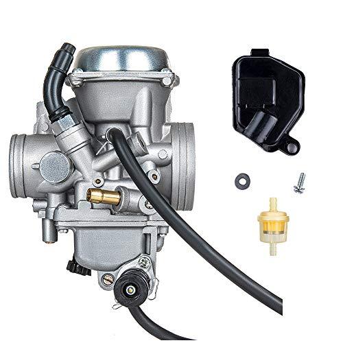 PUCKY Carburetor for Honda Fourtrax 300 350 Foreman 400 450 Rancher 350 Carb, Honda Fourtrax 300 Carburetor, Honda Foreman 450 Carburetor, Honda Rancher 350 Carburetor