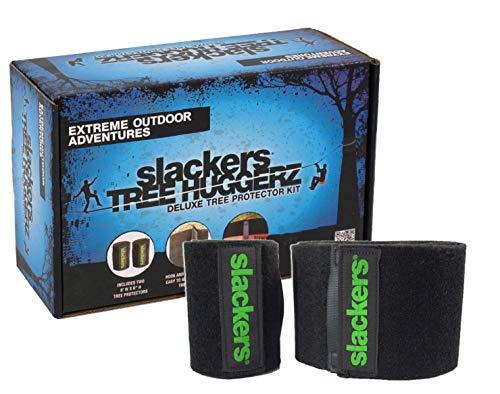 Slackers USA Baumschutz Set für Slackline, Ninja Line, Seilrutsche, Set für 2 Bäume, 980011