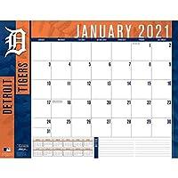 TURNER Sports デトロイト・タイガース 2021 22X17 デスクカレンダー (21998061506)