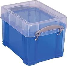 Really Useful Box Plastic Storage Box, 3 Liters, 6 1/2