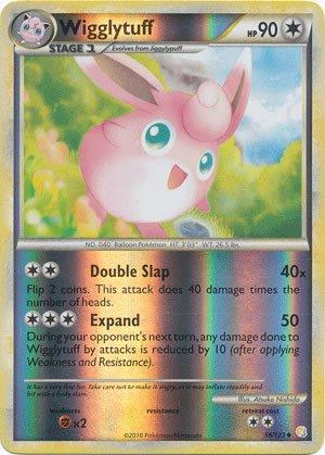 Pokemon Card Heart Gold Soul Silver (Reverse Holo) - Wigglytuff 56/123
