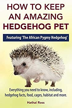 How to Keep an Amazing Hedgehog Pet Featuring  The African Pygmy Hedgehog  !!  Everything you Need to Know Including Hedgehog Facts Food Cages Habitat and More