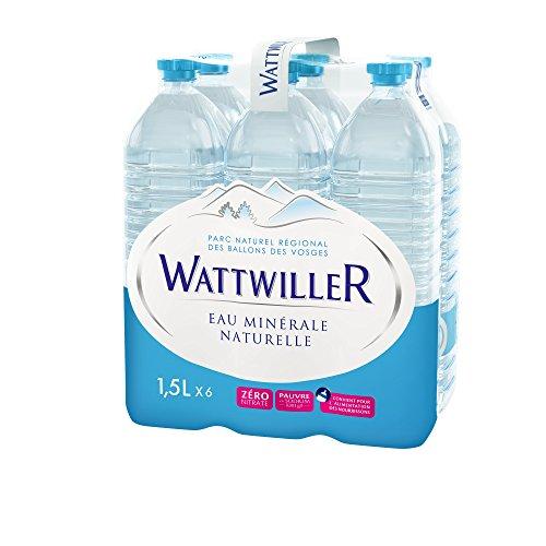 Wattwiller Eau minérale naturelle - Les 6 bouteilles de 1,5L