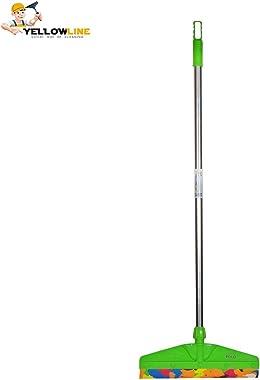 Yellowline EVA Foam With Stainless Steel Rod Bathroom Floor Cleaning Wiper (Assorted, Medium Size)