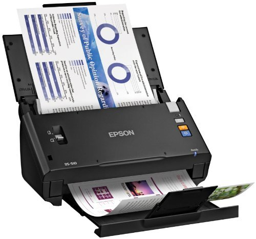 Great Features Of Epson WorkForce DS-510 Color Document Scanner (Certified Refurbished)
