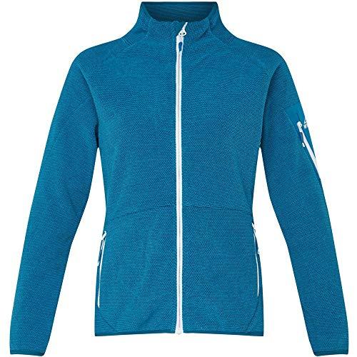 McKINLEY Damen Unterjacke Tallac, Mélange/Blue Aqua, 2XL