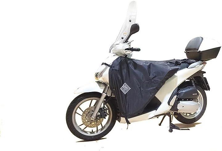 Coprigambe per scooter tucano urbano termoscudo nero R099X
