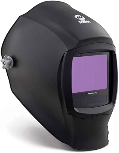 lowest Miller popular 280045 Black Digital Infinity Series Welding discount Helmet with Clear outlet sale