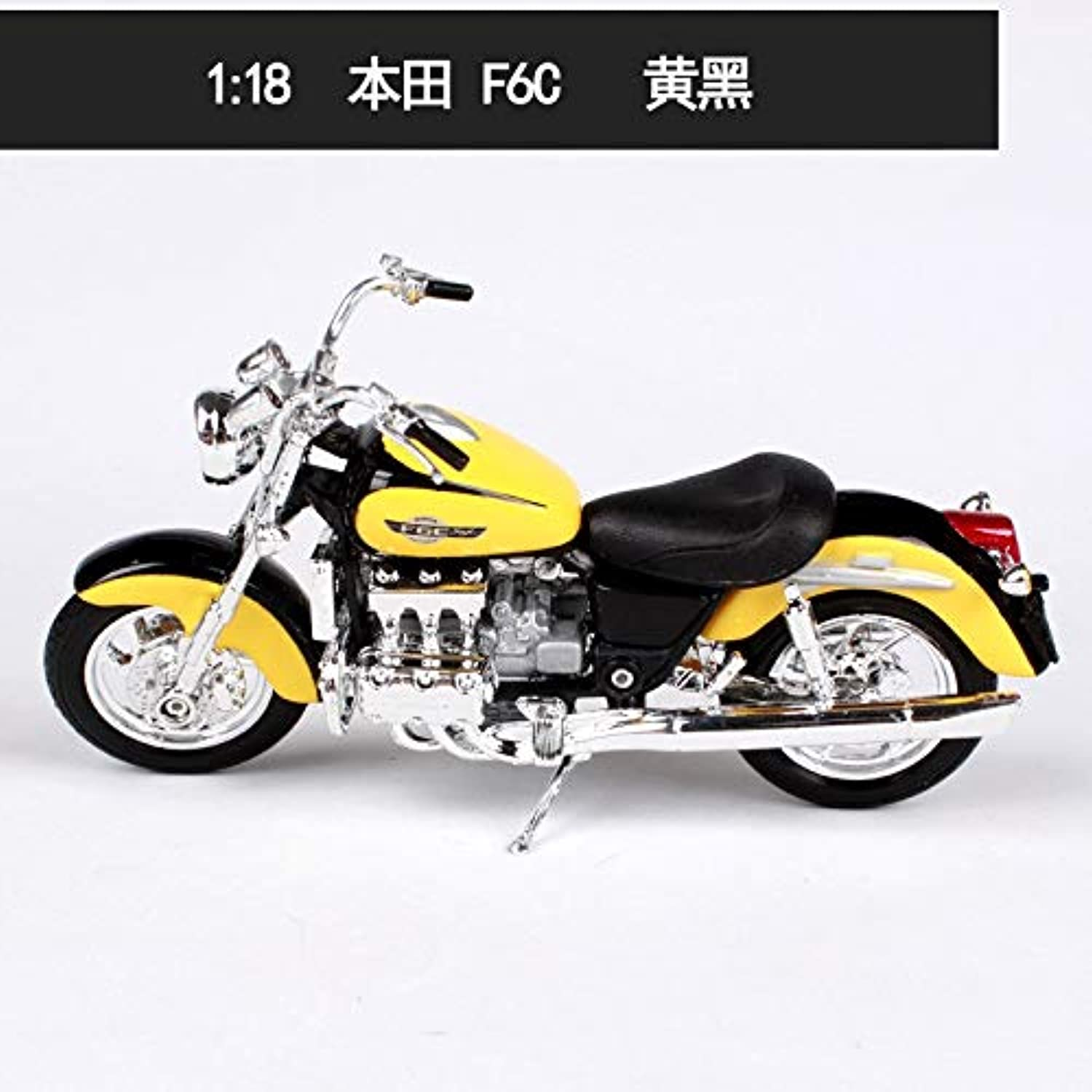 Generic Diecast Alloy Motorcycle Scale Motor Scoote Car Models Motorbike Vehicles mkd3 Toys 1 18 Honda CBR600RR F6C317 Yellow