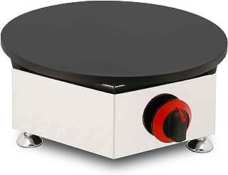 Fashion Cast Iron Crepe Burner, Commercial Crepe Maker Griddle Machine Non-Stick, kan användas för familjesamlingar eller ...