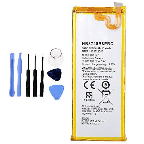 Ellenne Batería compatible con Huawei Ascend G7 HB3748B8EBC de alta capacidad 3000 mAh con kit de desmontaje incluido by Store