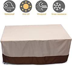Garden Furniture Covers, Outdoor Table Cover Table and Chair Covers Rectangular Cover Patio Furniture Covers Waterproof, W...